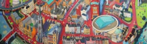The Fair City - limited edition print (small unframed)