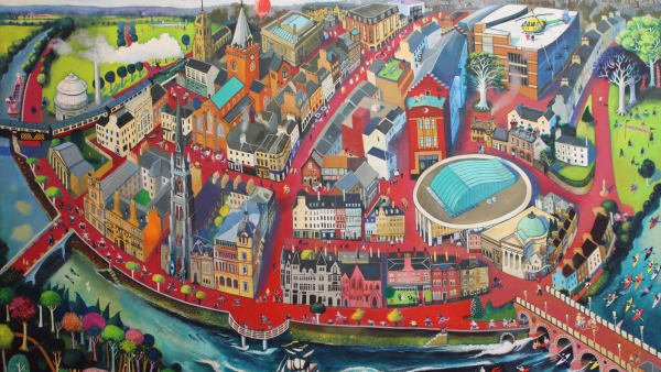 The Fair City - limited edition print (medium unframed)