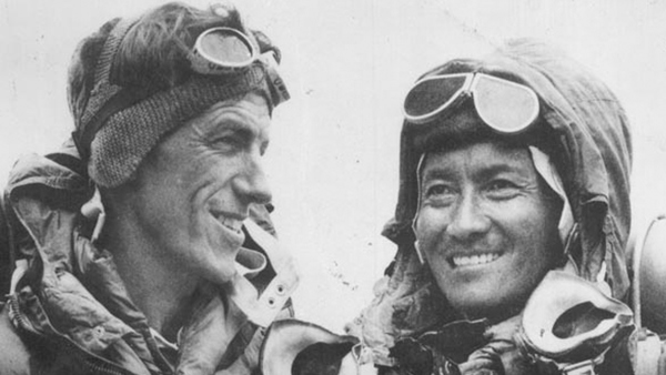 The First Ascent of Everest